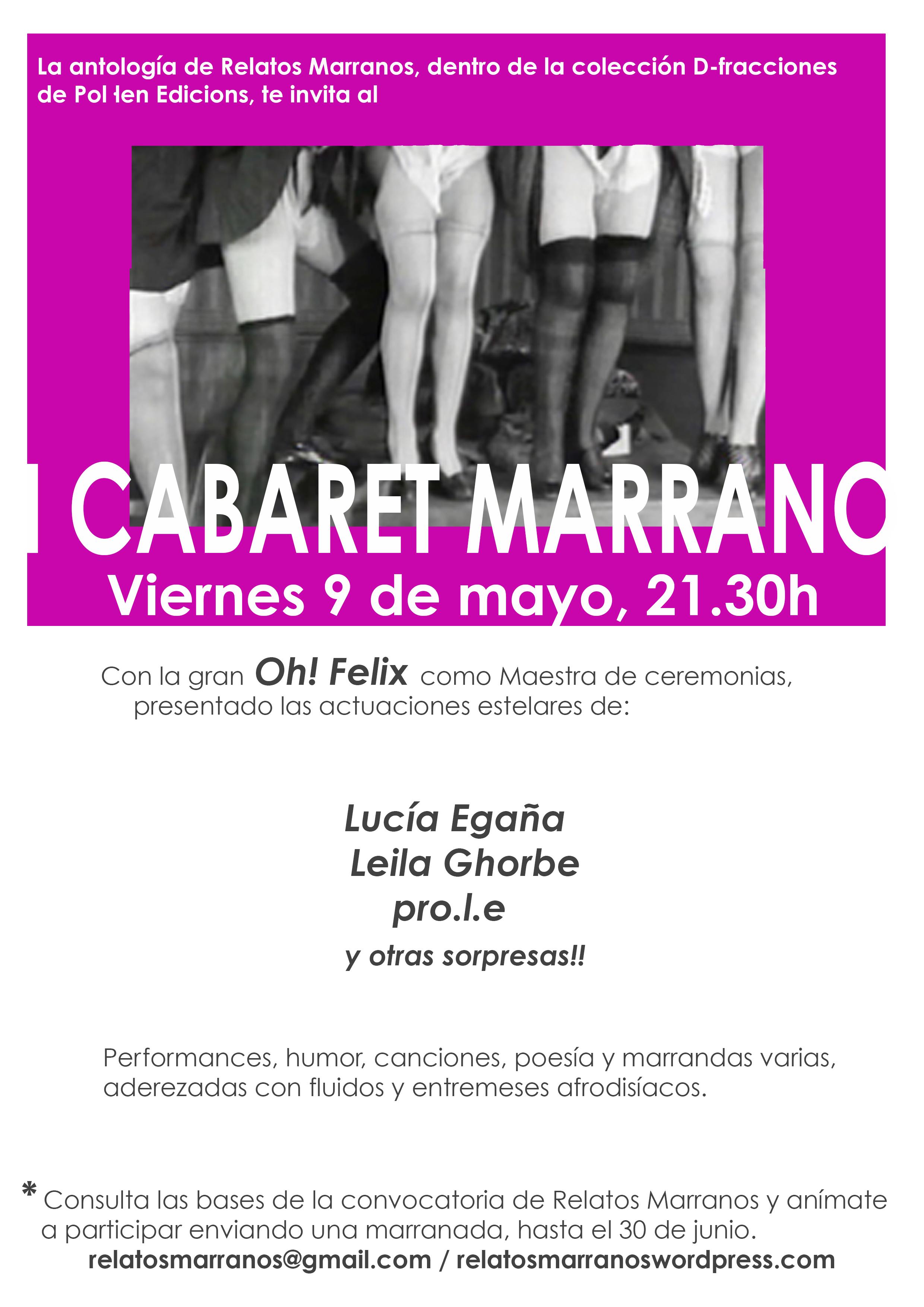 C.U.E.R.D.A.S. Cabaret Marrano