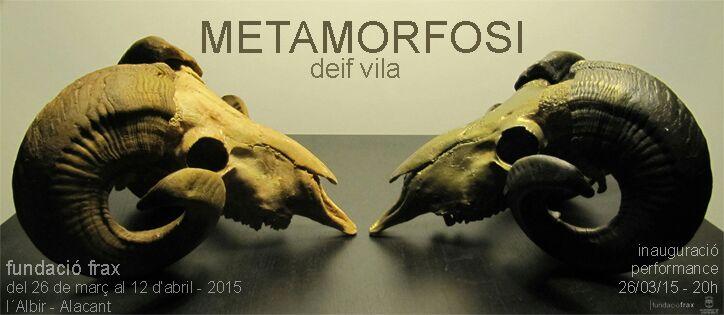 invitación METAMORFOSI Deif Vila